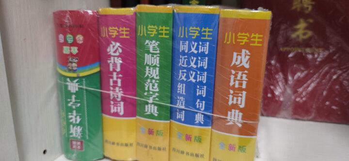 小学生全新版工具书:多功能字典+成语+同近反+笔顺规范+必背古诗词(多功能设置,繁简结合) 晒单图