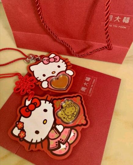 周大福 Hello Kitty凯蒂猫系列 定价足金黄金金币/金章/挂饰 R19956 360元 晒单图