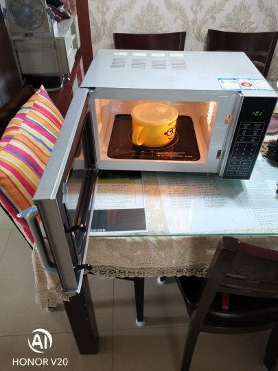 格兰仕微波炉烤箱一体机 小型家用光波炉20L 平板易清洁 智能预约做菜 多功能微蒸烤DG(S1) 晒单图