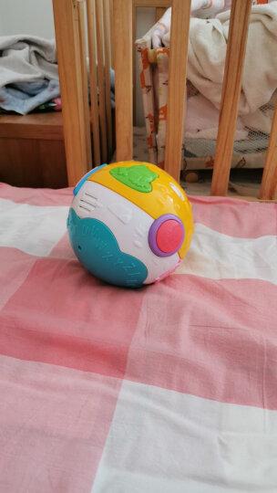 澳贝(AUBY)益智学爬玩具响铃滚滚球运动爬行婴幼儿童早教启智儿童节礼物 461140(新旧配色随机发货) 晒单图