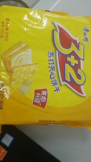 康师傅 3+2苏打夹心饼干蛋糕营养早餐办公室休闲零食小吃香浓奶油375g 晒单图
