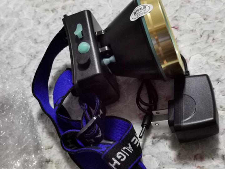 E-smarter强光9900W头灯远射充电超长续航亮防水头戴式LED夜钓手电筒大功率矿灯户外钓鱼灯 白光超亮9900W 10小时持久续航 晒单图
