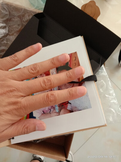 """富士(FUJIFILM)定制喜羊羊照片书 Q版母婴款 6英寸正方形 30页绒面(下单后前往""""我的订单""""上传照片) 晒单图"""