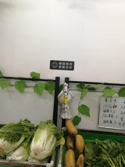 简约亚克力温馨提示牌友情提醒标语标识牌标志牌墙贴标贴告示牌警示牌 店内禁止饮食 晒单图