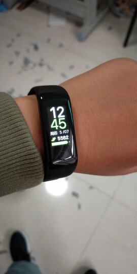 乐心  连续心率监测 心率手环 运动手环 游泳防水 男女手环 触摸OLED屏 信息来电显示 智能手环 黑色 晒单图
