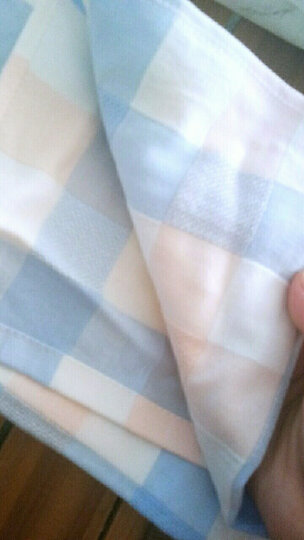 亚光 儿童毛巾 纯棉纱布小毛巾 全棉吸水手帕巾 口水巾 A类婴儿标准 梦娜维尔 6条装 26*48cm/条 晒单图