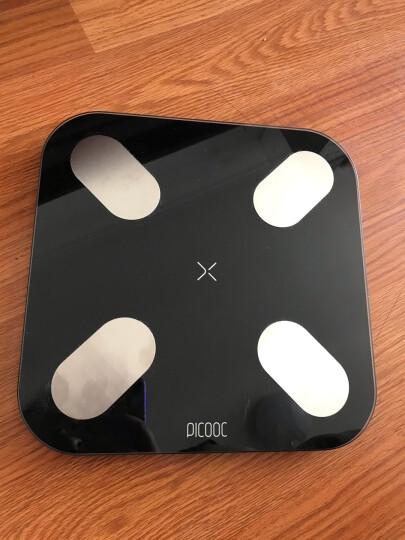 有品(PICOOC)体脂秤Mini黑 体重体脂称 脂肪秤 智能家用秤 精准电子魔秤 测人体脂肪 健康瘦身 晒单图