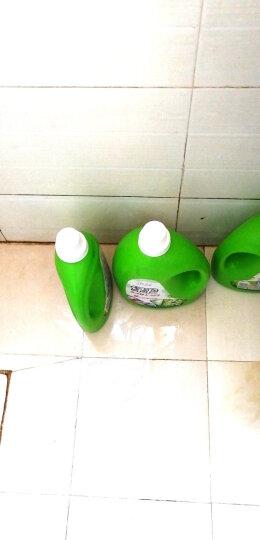 绿伞 去污超人洗衣液4kg 玉兰幽香 机洗手洗 晒单图