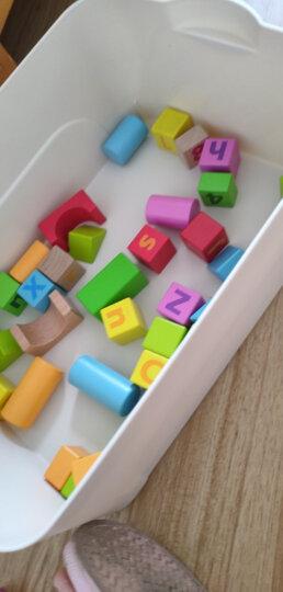 德国(Hape)积木玩具男孩玩具女孩宝宝拼搭儿童早教益智玩具1-3-6岁125粒城市情景积木进口榉木 1岁+ E8029 晒单图