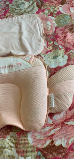 贝谷贝谷 婴儿定型枕宝宝枕头定型 新生儿婴儿枕头定型宝宝四季通用麻棉枕头透气 一段(0-6月) 礼盒款 晒单图