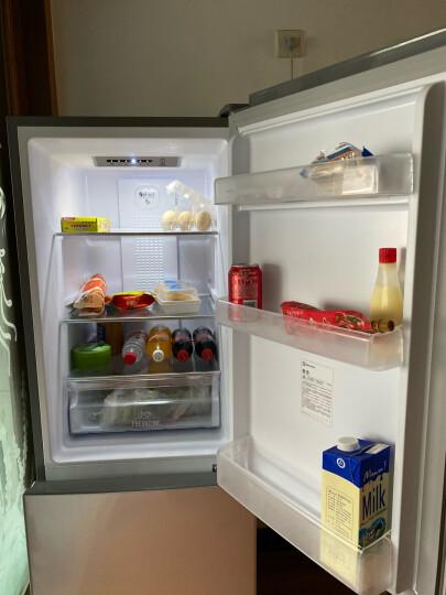 伊莱克斯(Electrolux)218升风冷无霜 双门冰箱 家用电冰箱 节能静音省电 保鲜 EBE2201TS 晒单图