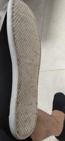 颐福元老北京布鞋男手工千层底传统布鞋透气网面老人鞋爸爸鞋开车散步工作鞋 网面凉鞋(加牛筋底 标准皮鞋码) 40 晒单图