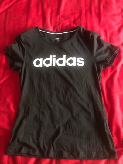 Adidas阿迪达斯官网女装 2020冬季新款官方运动服跑步训练健身潮流时尚透气舒适休闲卫衣套头衫 GL1178/紫色 XL 晒单图