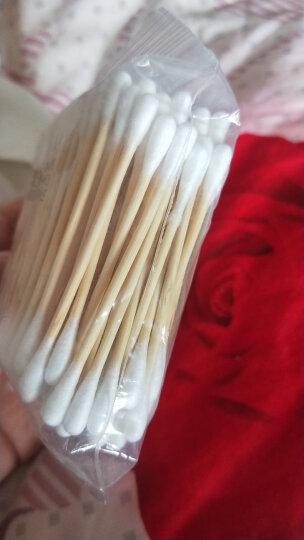棉花朵朵 医用棉签 无菌消毒棉签棒 10cm*50支/袋*5袋塑封包装 婴儿上药伤口护理化妆卸妆掏耳朵250只 晒单图