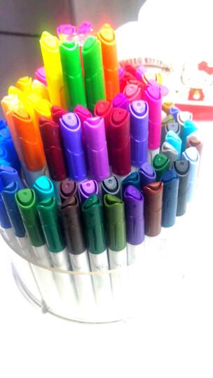 得力(deli)绘画套装礼盒/儿童绘画用品大礼包82件套装 (水彩笔蜡笔彩铅油画棒)68879 晒单图