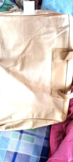 水星家纺 95%白鹅绒羽绒被 抗菌保暖加厚冬被芯 暖寐鹅绒加厚冬被 防羽面料加大双人被子220*240cm 晒单图