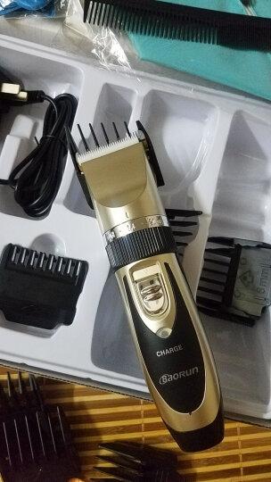 宝润 938电动理发器成人儿童充电婴儿电推剪静音剃头刀电推子理发工具剪发器专业美发理发剪刀 金色双电池双剪豪华套装 晒单图