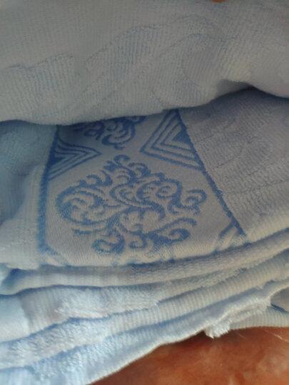 美宜美毛巾被老式纯棉纱布提花毛巾毯夏季单人双人空调被盖毯加厚可以夏季盖冬季铺的多功能盖毯 金桔色欧雅 150*200 晒单图