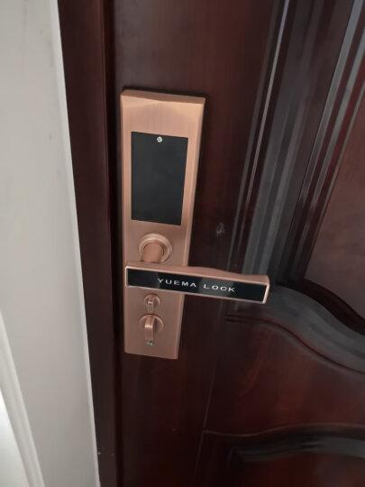 玥玛 指纹锁 智能门锁 家用防盗门密码锁 支持手机APP开锁 智能门锁 门铃套餐 晒单图