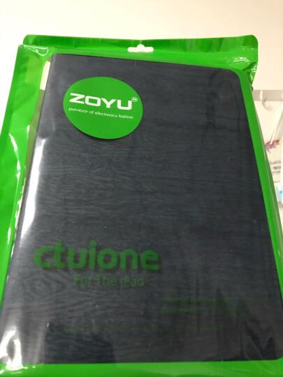 zoyu 苹果2018新款iPad保护套2017平板电脑9.7英寸air2商务Air1 低调棕 mini1/2/3通用 晒单图