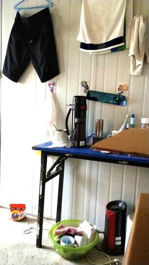 万象(WANXIANG)I23P 390ML紫砂内胆茶杯 男士商务办公泡茶杯 带茶漏滤网直身杯 棕木灰 晒单图
