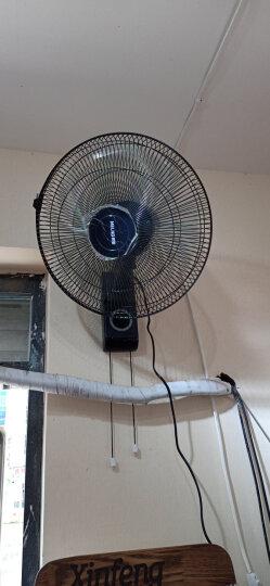 美菱(MeiLing)电风扇/壁扇 五叶静音 三档风速 FB16-1 晒单图