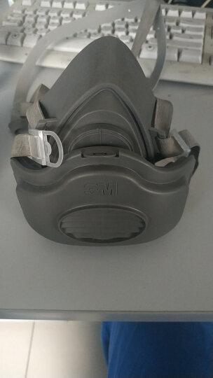 3M 3200防尘面具工业防粉尘KN95防雾霾PM2.5口罩水泥打磨煤矿工厂装修电焊夏透气 中码3200配活性炭滤棉(活性炭型) 晒单图