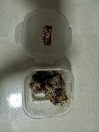 乐扣乐扣 耐热玻璃保鲜盒 小饭盒 微波炉便当盒餐盒密封食品盒水果盒零食盒 冰箱冷冻盒子 婴儿辅食盒 300ml 晒单图