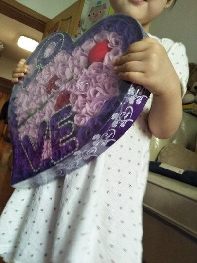 I'M HUA HUA99朵love紫色玫瑰花香皂花礼盒鲜花速递同城花束生日礼物纪念七夕情人节礼物送女友 晒单图