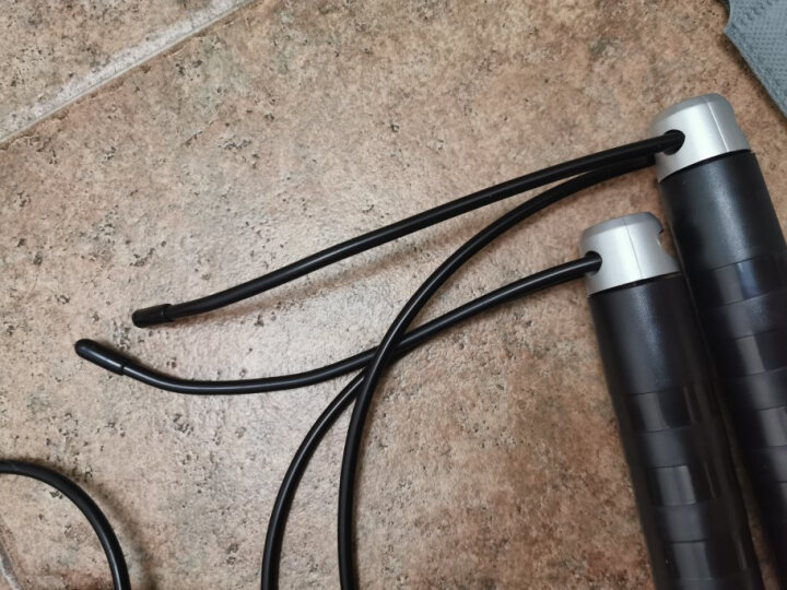 (大部分地区次日达)SALUKO 专业成人跳绳健身器材套装减肥运动体育用品体能训练儿童跳绳 负重豪华款【轴承设计不绕绳】 晒单图