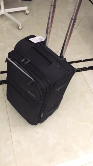 汉客(HANKE)H8730 咖啡色22英寸精品万向轮拉杆箱行李箱旅行箱子配密码锁 晒单图