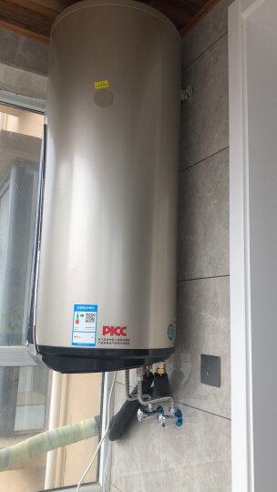 四季沐歌(MICOE)OP-B阳台壁挂太阳能热水器 带电加热 平板家用分体式 节能热水器100L 东出口普通款 晒单图