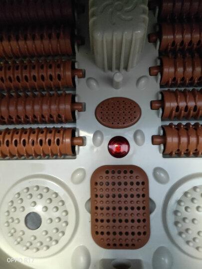 南极人(NANJIREN) 【明星推荐】全自动足浴盆电动深桶加热洗脚盆 自助按摩泡脚桶 NBX6F80020金色按键版 晒单图