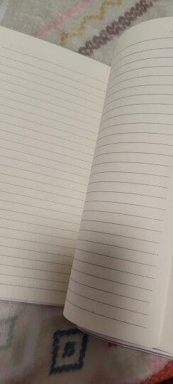 晨光(M&G)文具A5/100页学生笔记本子 记事本 胶套本 布艺系列大学生软抄本日记本 单本装APY4G056 晒单图