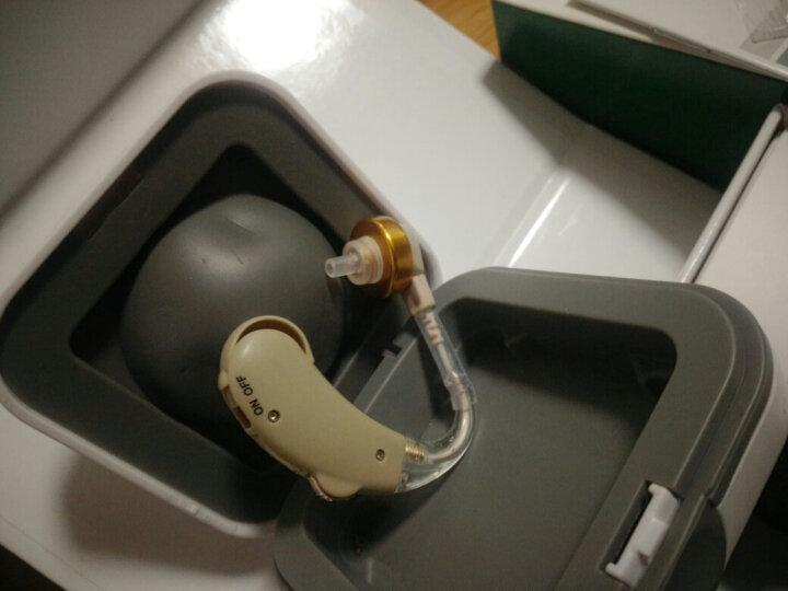 宝尔通 V-189 助听器 免充电 老年人老人耳背式无线隐形助听器 中重度弱听人士 耳挂式 标配 + 充电套餐 + 电子干燥盒 晒单图