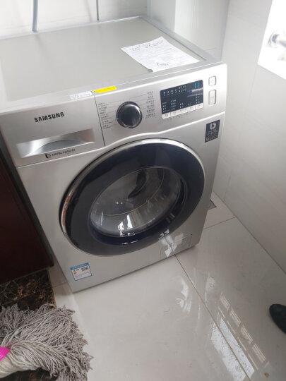 三星(SAMSUNG)8公斤全自动滚筒洗衣机 洗烘一体机 婴儿洗 杀菌WD80M4473JS/SC(XQG80-80M4473JS)(银) 晒单图
