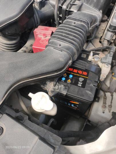 风帆(Sail)汽车电瓶蓄电池6-QW-60/L2-400 12V大众高尔夫6途安POLO荣威550/350朗行途观1.8T以旧换新上门安装 晒单图