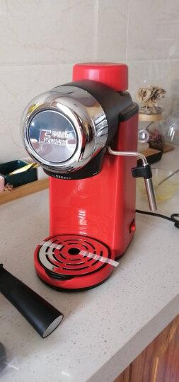 华迅仕(Fxunshi) 全自动意式咖啡机家用咖啡壶小型商用奶泡机送磨豆机现磨现煮咖啡 不锈钢款 晒单图