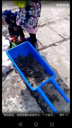 迪泰妮(Ditaini) 感统独轮小推车玩具幼儿园独轮车手推车儿童翻斗车塑料平衡车 黄色 晒单图