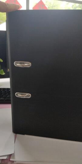 得力(deli)33180 加厚型欧式快劳夹/文件夹 A4 6个特惠装 黑色 晒单图