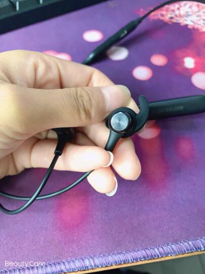 迅听GW10蓝牙耳机 无线运动迷你隐形双耳入耳式重低音TWS真无线商务蓝牙耳机 黑色 晒单图