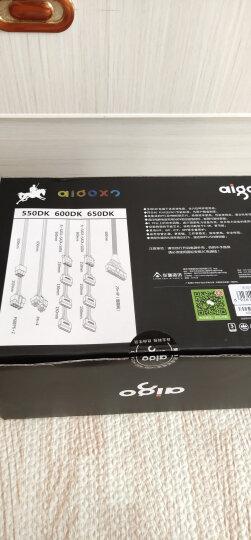 爱国者(aigo) 额定450W 黑暗骑士600DK 台式机电脑电源(主动式PFC/宽幅节能温控/三年质保) 晒单图