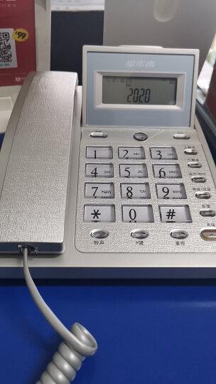 步步高(BBK)电话机座机 固定电话 办公家用 免电池 60度翻转屏 HCD6101流光蓝 晒单图