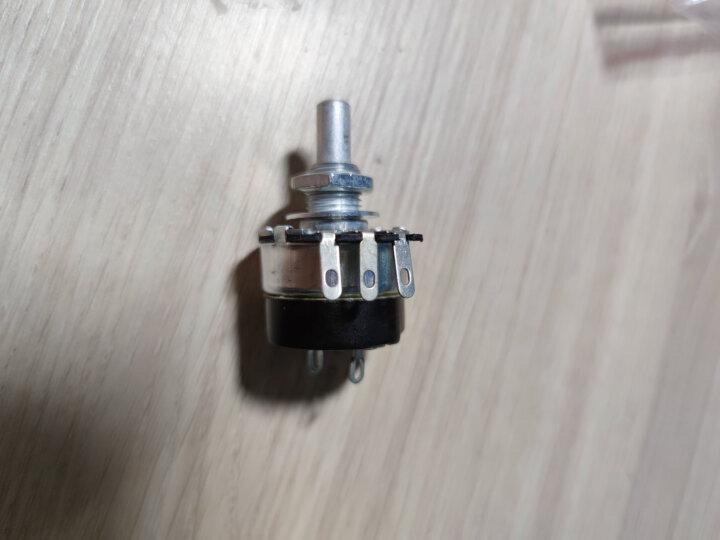 云野(yunye) 可调电位器WH134-2 单圈碳膜电位器 (带开关) 单圈电位器 1M 一个 晒单图