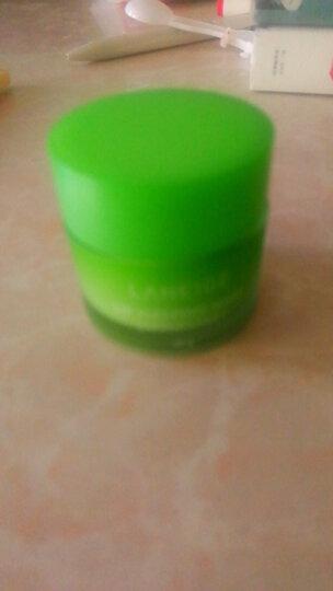 兰芝夜间保湿唇膜(苹果青柠味)20g(补水保湿 去角质护肤品 唇膏 男女) 晒单图