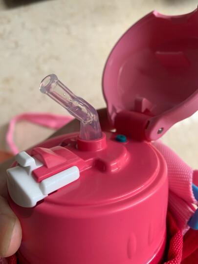 膳魔师THERMOS 儿童保温杯304不锈钢水杯(吸管+直饮+防尘盖)一杯多用大容量水壶小狮子粉色600ml 晒单图