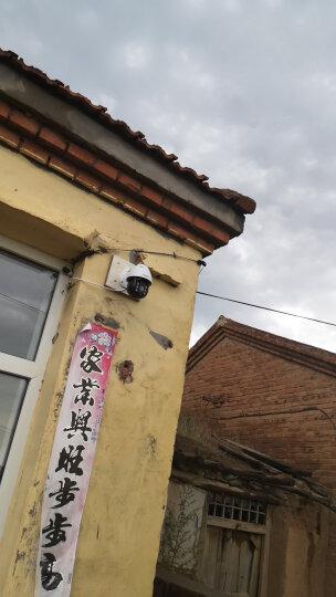 YESTV 监控摄像头无线wifi高清室外防水家用监控设备套装监控器家用监控室外摄像头云台防水摄像机 AI人体追踪 警灯警铃 声光警报 3MP 官方标配+64G内存 晒单图