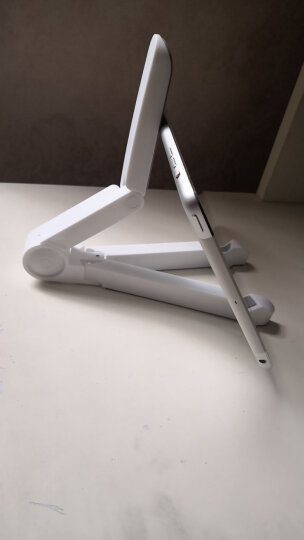 魅德 平板电脑支架ipad手机通用桌面折叠懒人架子 适用于mini2/3/4/5/air (黄色)手机平板两用便携散热支架 晒单图