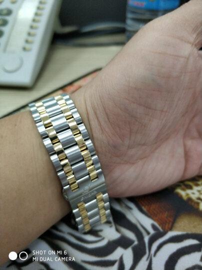英纳格(ENICAR)瑞士原装进口手表 精英系列白盘间金钢带自动机械男表新款3165/51/329GS 晒单图