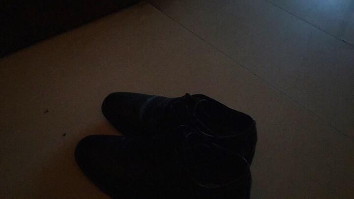 春秋新款男士皮鞋黑色正装皮鞋男真皮商务休闲鞋男工作鞋潮流男鞋 黑色 42(标准皮鞋码) 晒单图